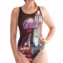 Női vastag pántos úszódressz - Las Vegas
