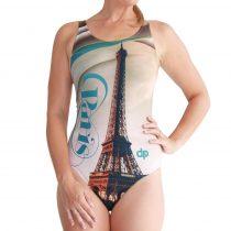 Női vastag pántos úszódressz - Paris
