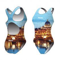 Női vastag pántos úszódressz - Rome