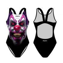 Női vastag pántos úszódressz-Clown