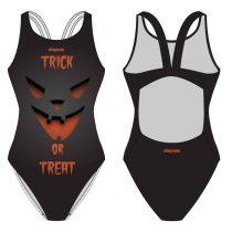 Női vastag pántos úszódressz-Trick or Treat