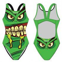 Női vastag pántos úszódressz - Monster