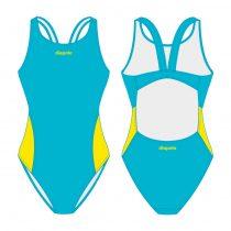 Női vastag pántos úszódressz-Classic 2