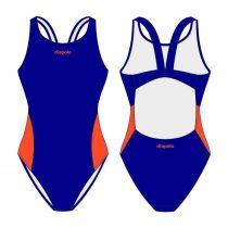 Női vastag pántos úszódressz-Classic 3