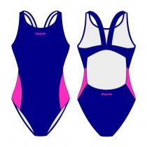 Női vastag pántos úszódressz-Classic 4
