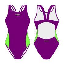 Női vastag pántos úszódressz-Classic 5