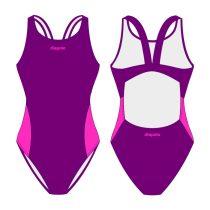 Női vastag pántos úszódressz - Classic 6