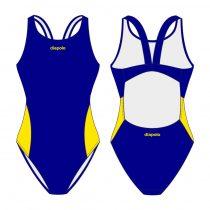 Női vastag pántos úszódressz-Classic 7