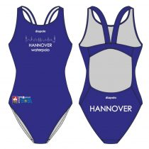 WASPO HANNOVER-Vastag pántos úszódressz