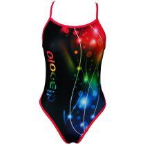 Női vékony pántos úszódressz-Lightcolor