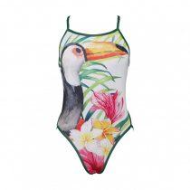 Női vékony pántos úszódressz - Toucan