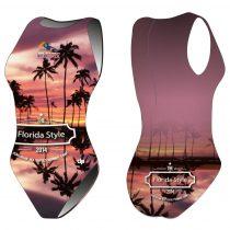 HWPSC - női vízilabdás úszódressz - Florida palms