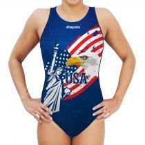 Női vízilabdás úszódressz - USA