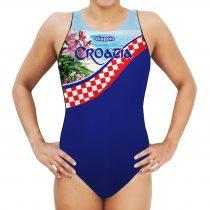 Női vízilabdás úszódressz - Croatia