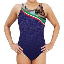 Női vízilabdás úszódressz - Italy