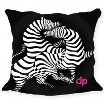Díszpárnahuzat-Zebra