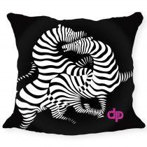 Díszpárnahuzat - Zebra