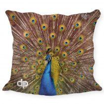 Díszpárnahuzat-Peacock