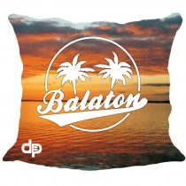 Díszpárnahuzat-Balaton Sunset