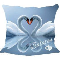 Díszpárnahuzat-Balaton Swan