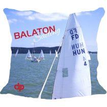 Díszpárnahuzat-Balaton Sailing