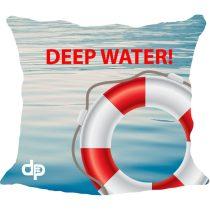 Díszpárnahuzat - Balaton Depp Water