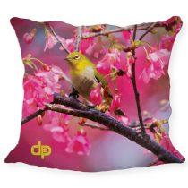 Díszpárnahuzat - Yellow Bird