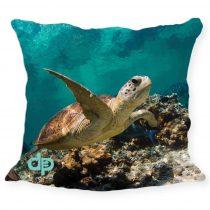 Díszpárnahuzat-Turtle