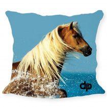 Díszpárnahuzat-Horse
