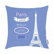 Díszpárnahuzat-Paris