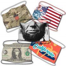 Védőmaszk - USA - 5 darabos csomag