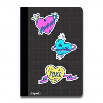 Mappa-Heart Stickers